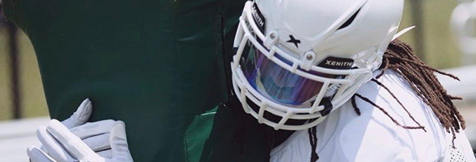 American Football Helmet Visors